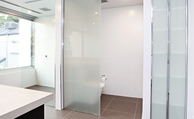 Semi-Frameless Shower Screens