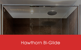 Semi-Frameless Hawthorn Bi-Glide Screens